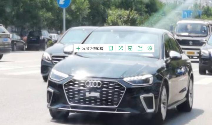 外观更运动/4.7秒破百 新款奥迪S4路试图曝光