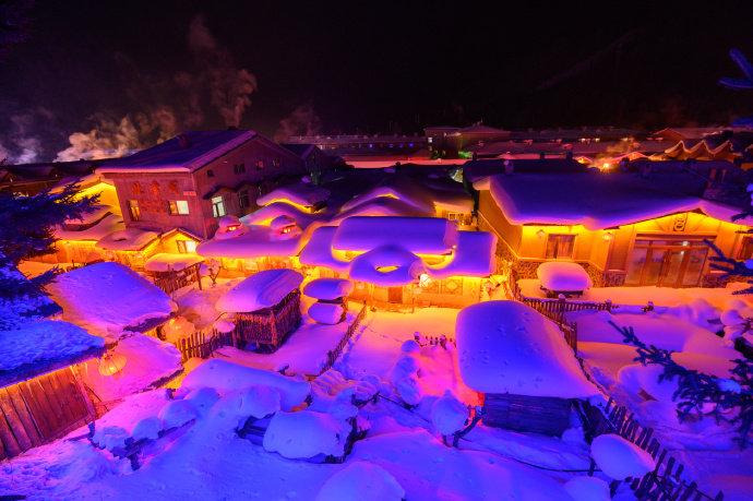 雪乡,关于雪的童话世界@吴秋煌