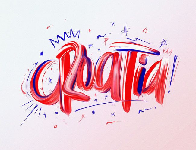 创意手绘字体字形设计欣赏! by - 设计师 david milan
