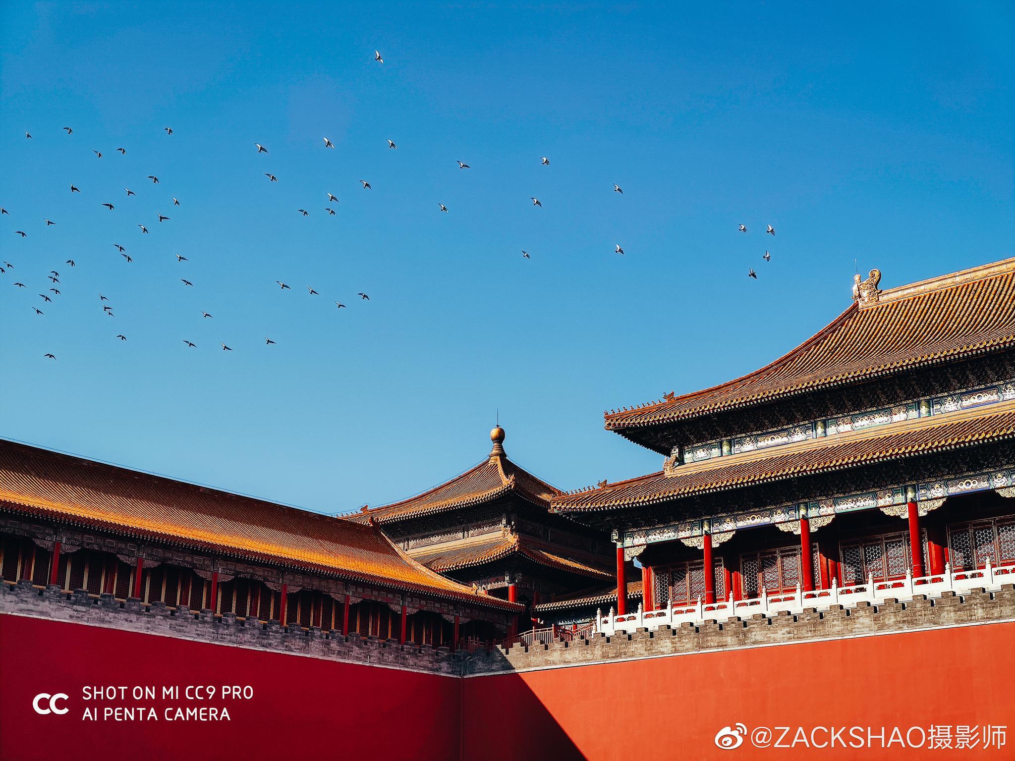 秋日紫禁城 一年千年 @手机摄影 @小米手机
