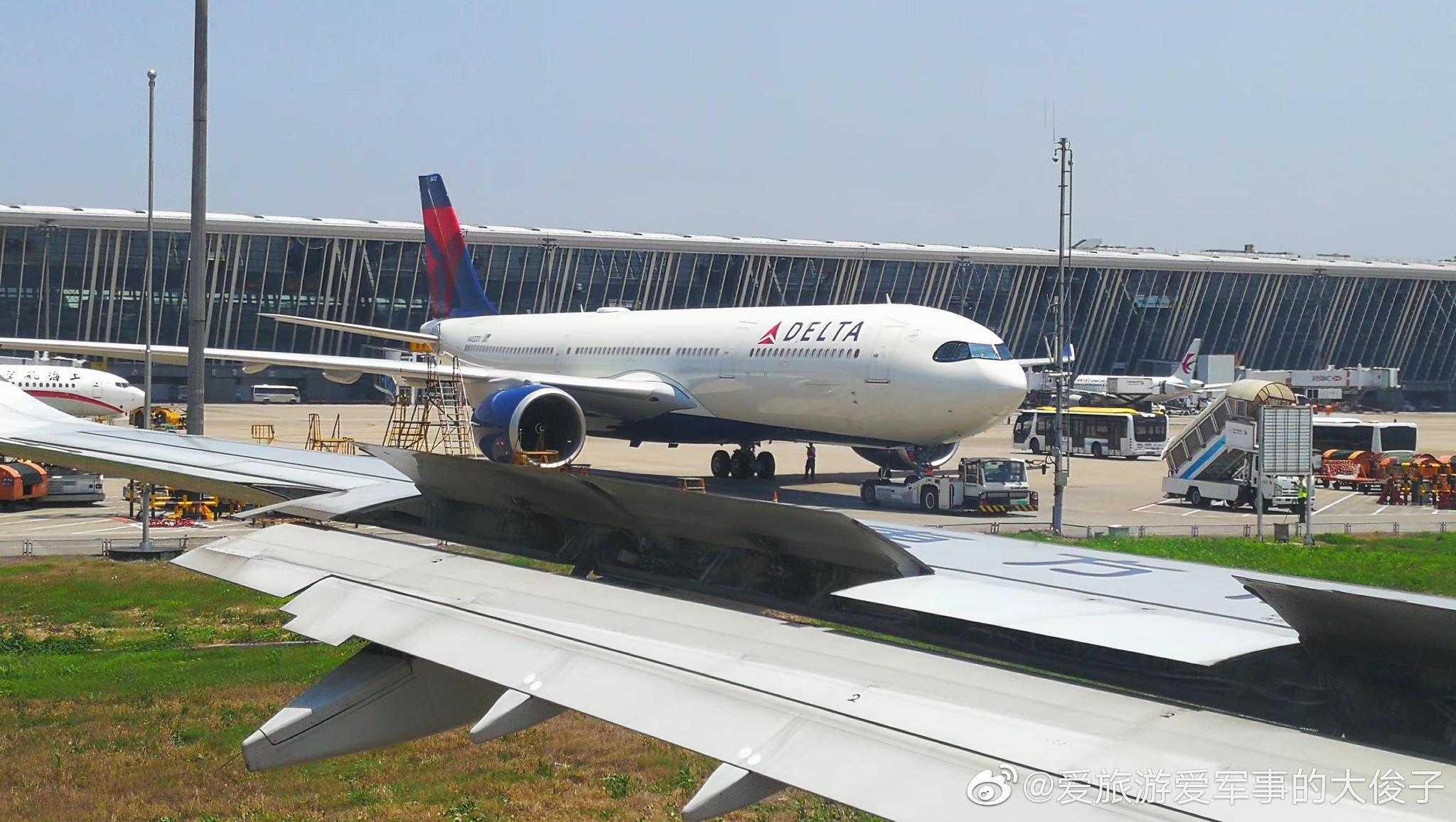 美国达美航空的空客A330-900neo (339)型客机@美国达美航空Delta