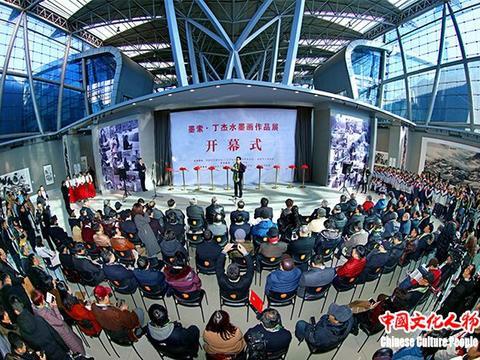 墨索·丁杰水墨画作品展在江苏现代美术馆隆重举行 【组图】