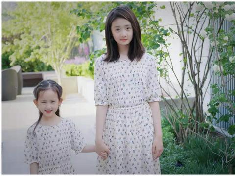 黄磊女儿一个比一个漂亮,多多温柔恬美岁月静好,多妹活泼开朗