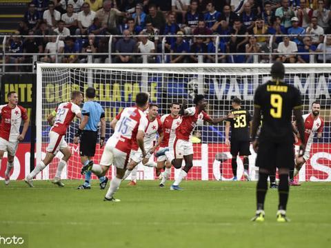 欧冠-国米1-1平结束连胜 新援处子球补时绝平