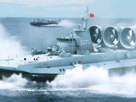 时速超过60节,可运一个装甲连,世界最大武装气垫登陆艇落户中国