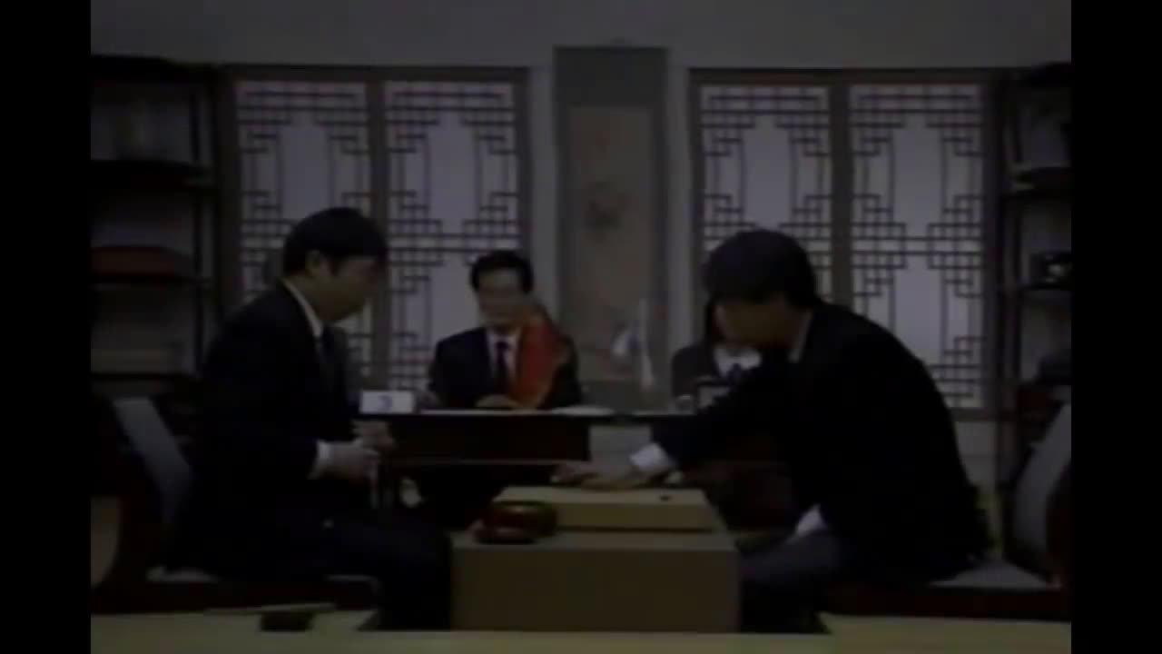 聂卫平先生的珍稀视频,和徐奉洙的对局现场