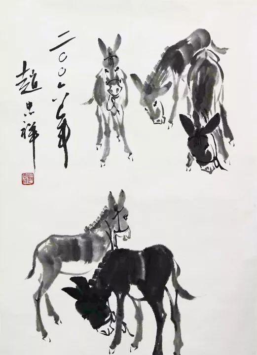 """赵忠祥去世后,生前画作价格飙升,被炒作成""""天价"""""""