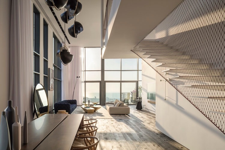 特拉维夫264顶层公寓   Anderman Architects汕头室内设计/汕头设计