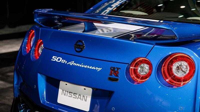 50周年限量版/R34经典配色/565马力 日产发布50周年纪念版GT-R