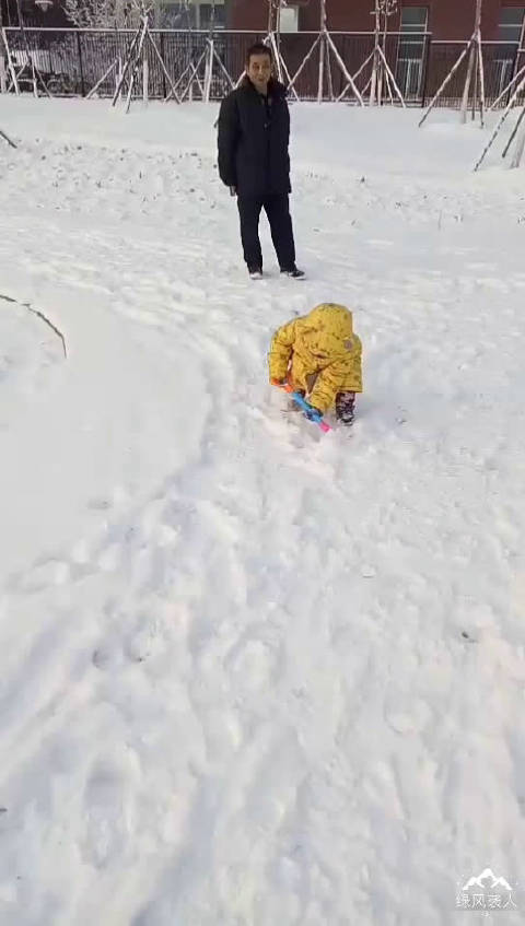 前几天下雪时候录下的视频,一直没空整理。今天放假了