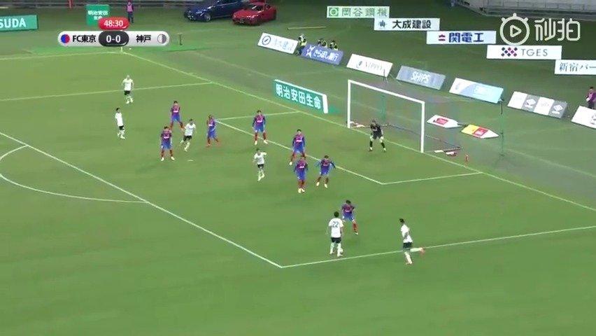 伊涅斯塔破门,助神户胜利船1--0爆冷击败榜首的FC东京