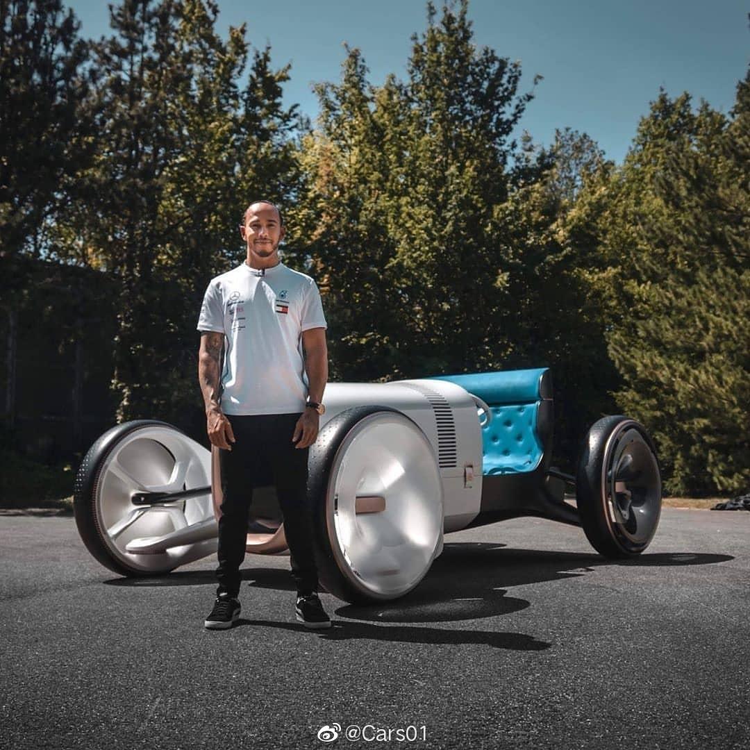 """汉密尔顿""""首提""""梅赛德斯-奔驰Vision Simplex Concept ~"""