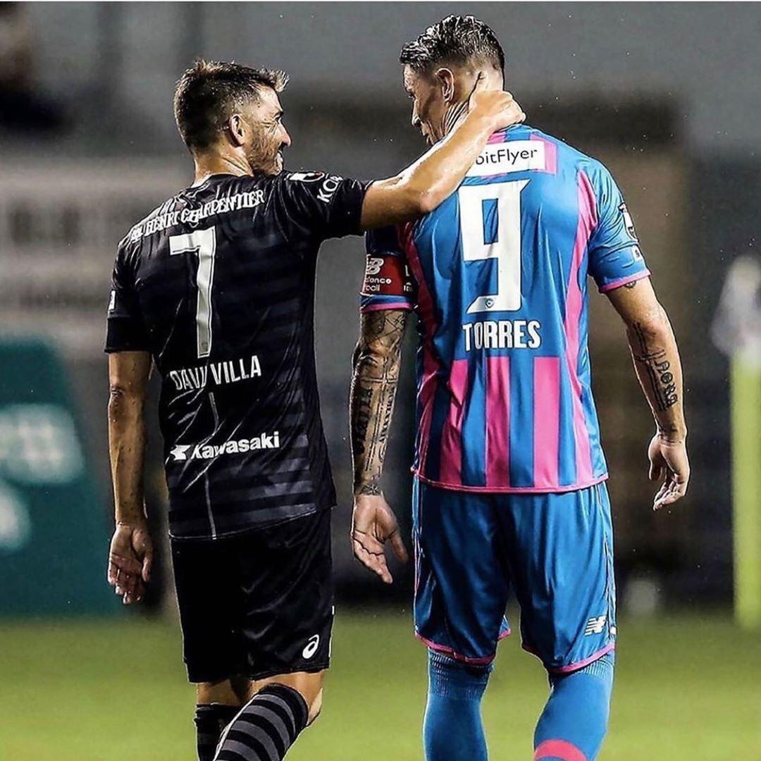 托雷斯致比利亚:我们一同度过了西班牙足球最美好的时刻