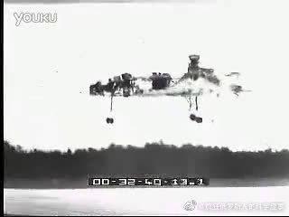 德国垂直起降战斗机-西德VJ-101 X1(VTOL)垂直起降战斗机1963年试飞实