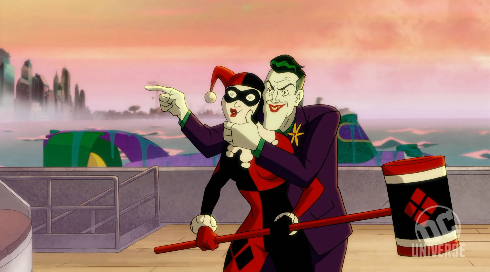 DC宇宙成人喜剧动画片《哈莉·奎茵》第二季开播时间确定——4月3日开