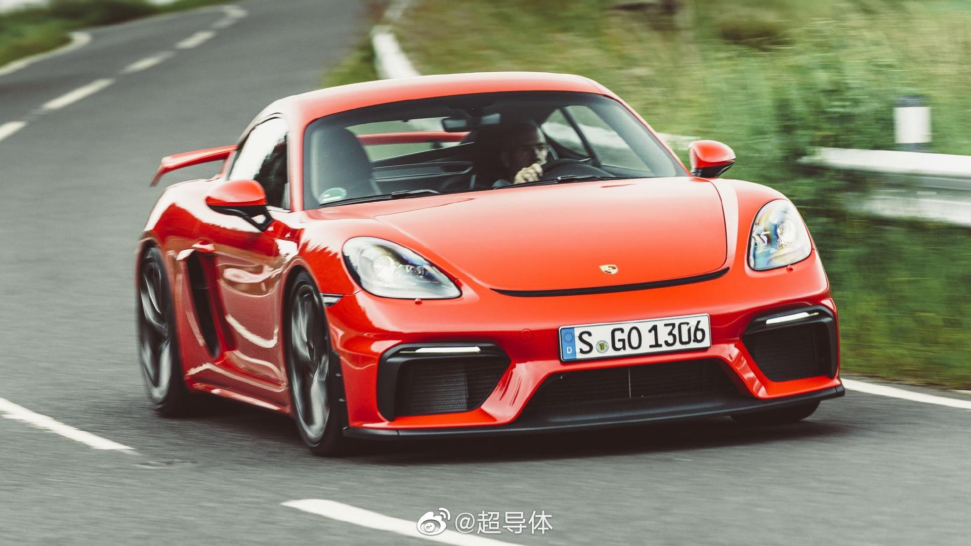 比大多数911更吸引我的 Porsche 718 Cayman GT4 真香 @Cars01