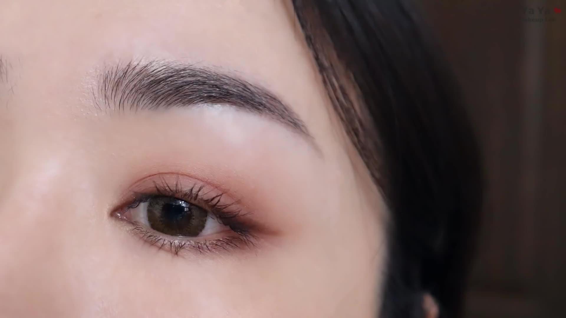 化妆小白也能轻松上手的入门眼妆,哑光配色消肿又气质
