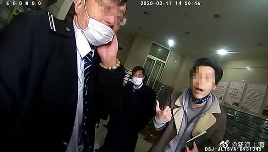 上海一男子未办通行证被阻打伤保安,已被行拘