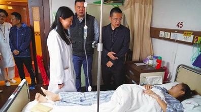 东体:上海女足U18球员尤一婷病情得到控制并于昨日出院