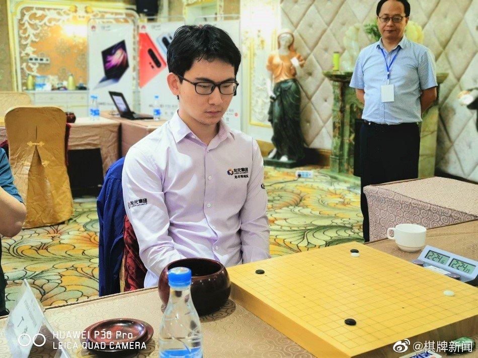 北京时间6月10日,2019华为手机杯中国围棋甲级联赛常规赛第8轮