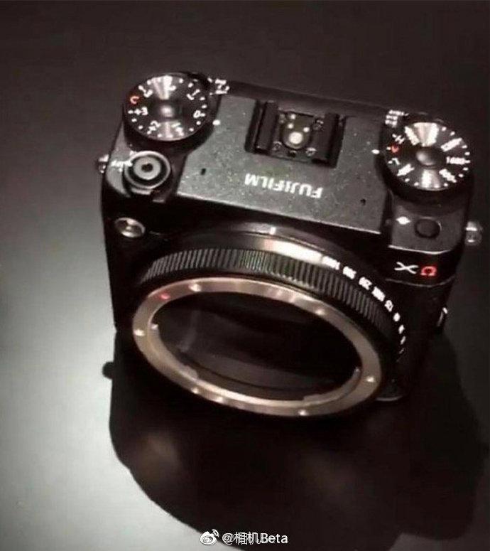 富士模块化相机设计图曝光