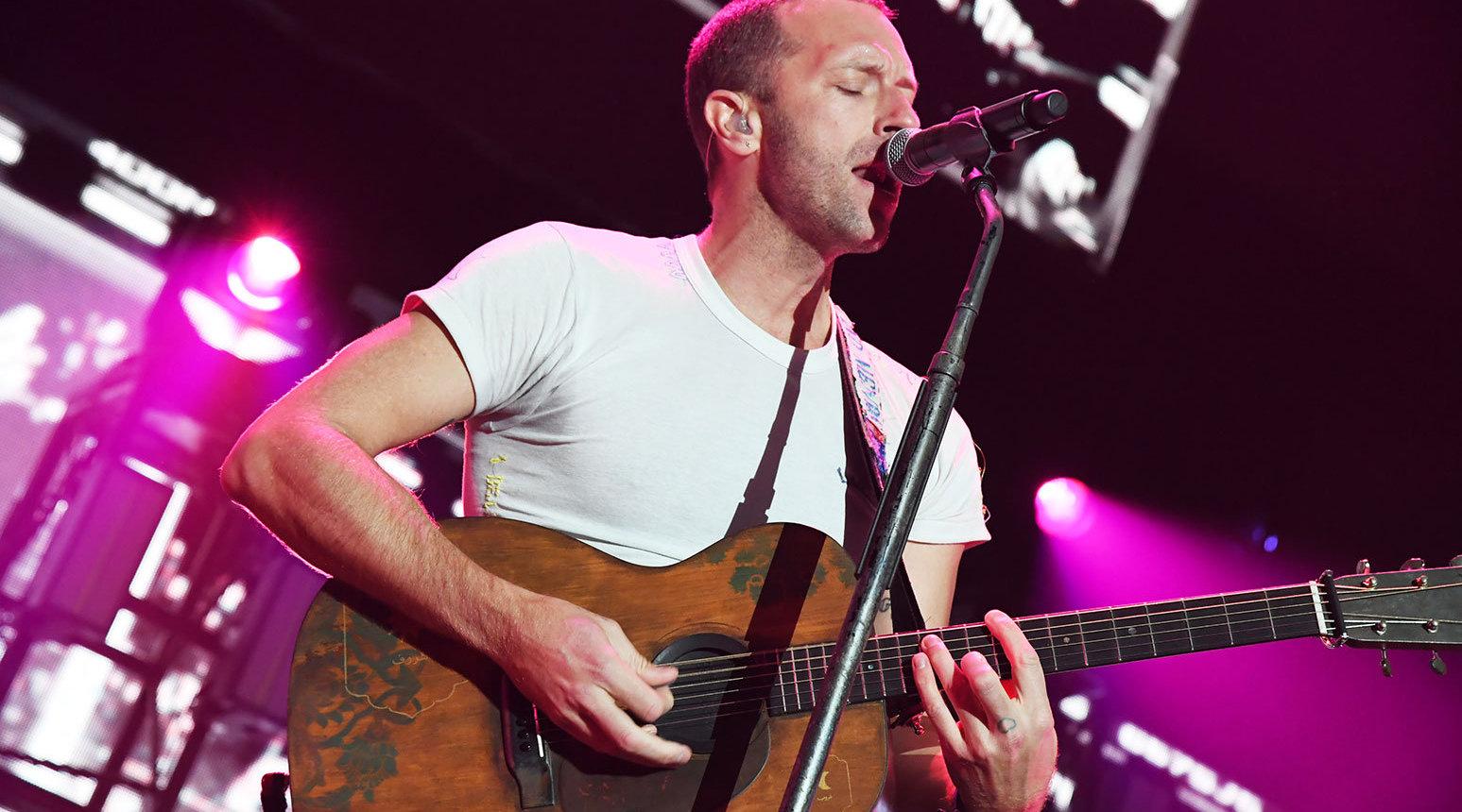 Coldplay最新音乐节全场视频