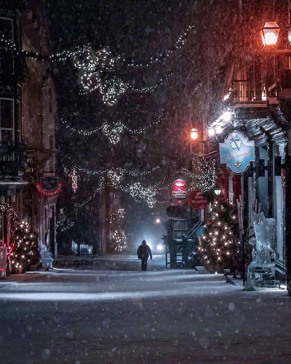 魁北克的聖誕夜Emmanuel Coveney