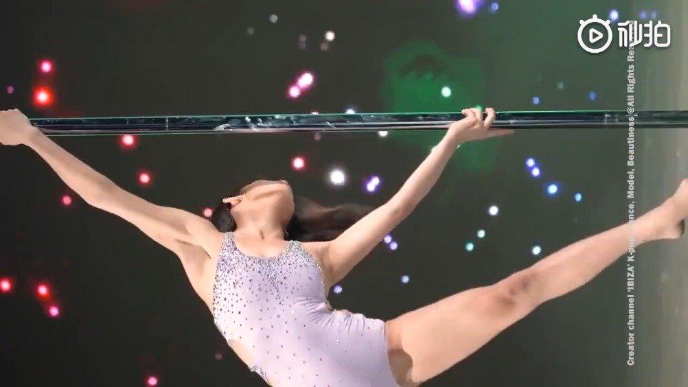韩国顶级钢管舞教练 (Pole Art)