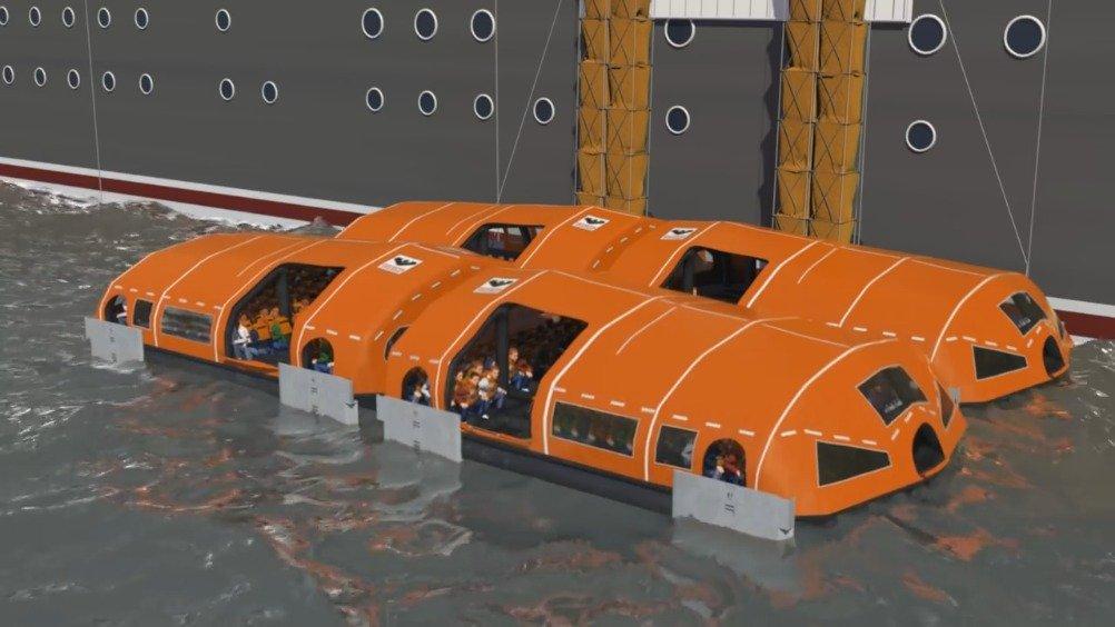 新型救生筏