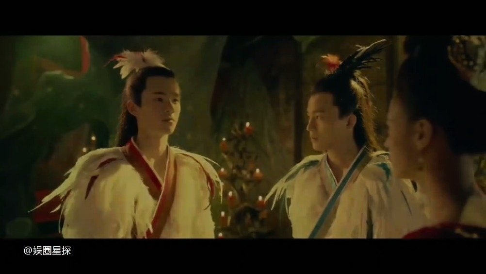 """《妖猫传》白衣少年白龙刘昊然cut,""""愿所有的爱与恨都炙热"""