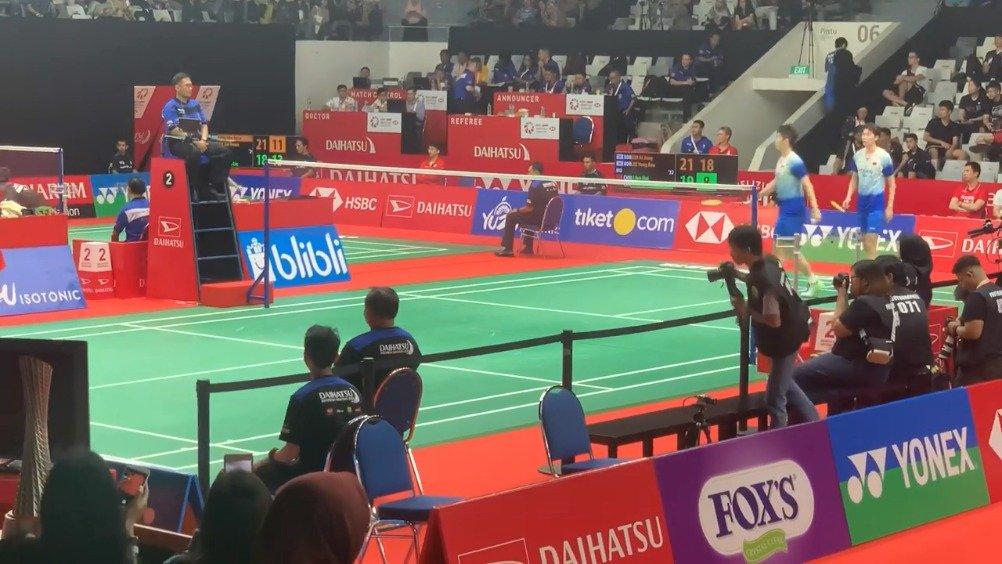 李龙大/金基正vs李俊慧/刘雨辰,比赛最后几分,一起回顾下。