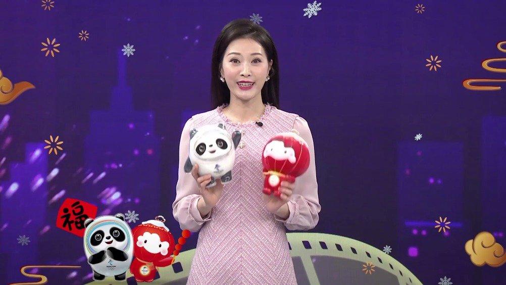 和电影频道@主持人谢映玲  一起助力北京2022年冬奥会