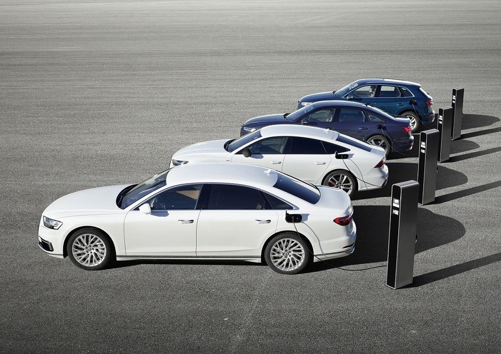 加速电气化 奥迪4款PHEV车型将亮相日内瓦车展