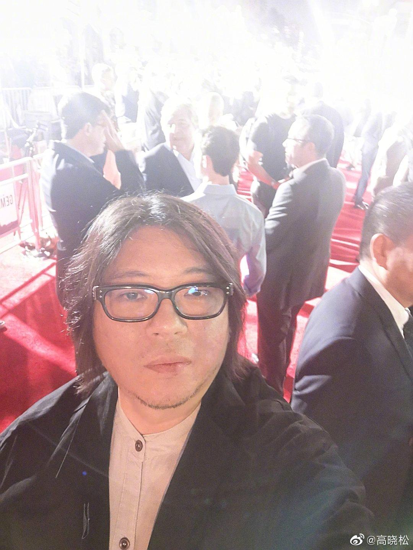 昨天在好莱坞代表阿里参加了我们阿里影业参与投资出品与发行的李安导