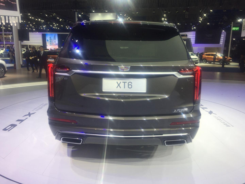 定位中大型SUV 凯迪拉克XT6车展首发