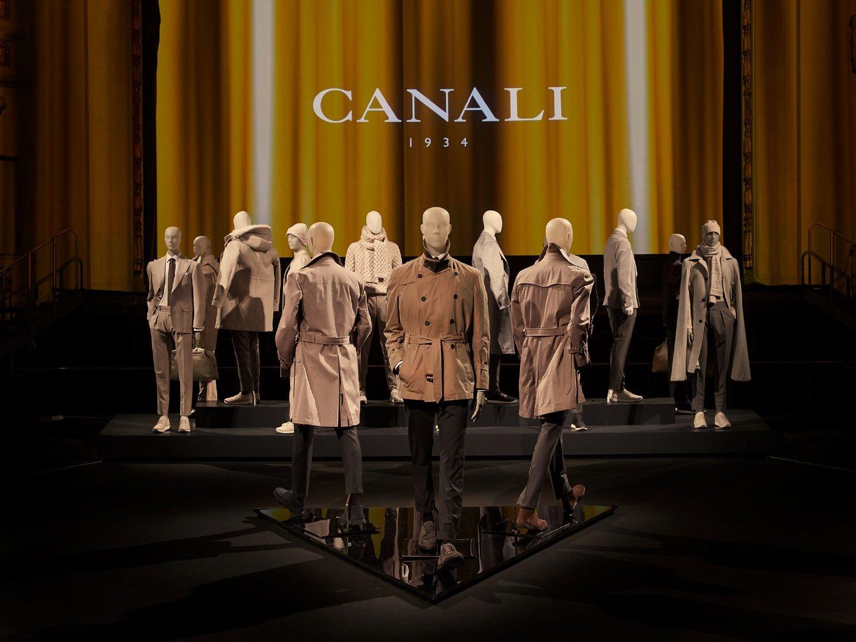 意大利奢华男装品牌 @Canali1934 于佛罗伦萨Pitti Uomo男装周发布全