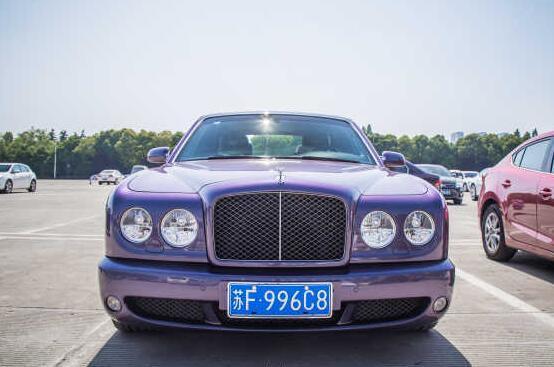 南通豪车鼻祖,宾利雅致90周年珍藏版,换过2次车牌,堪称传奇