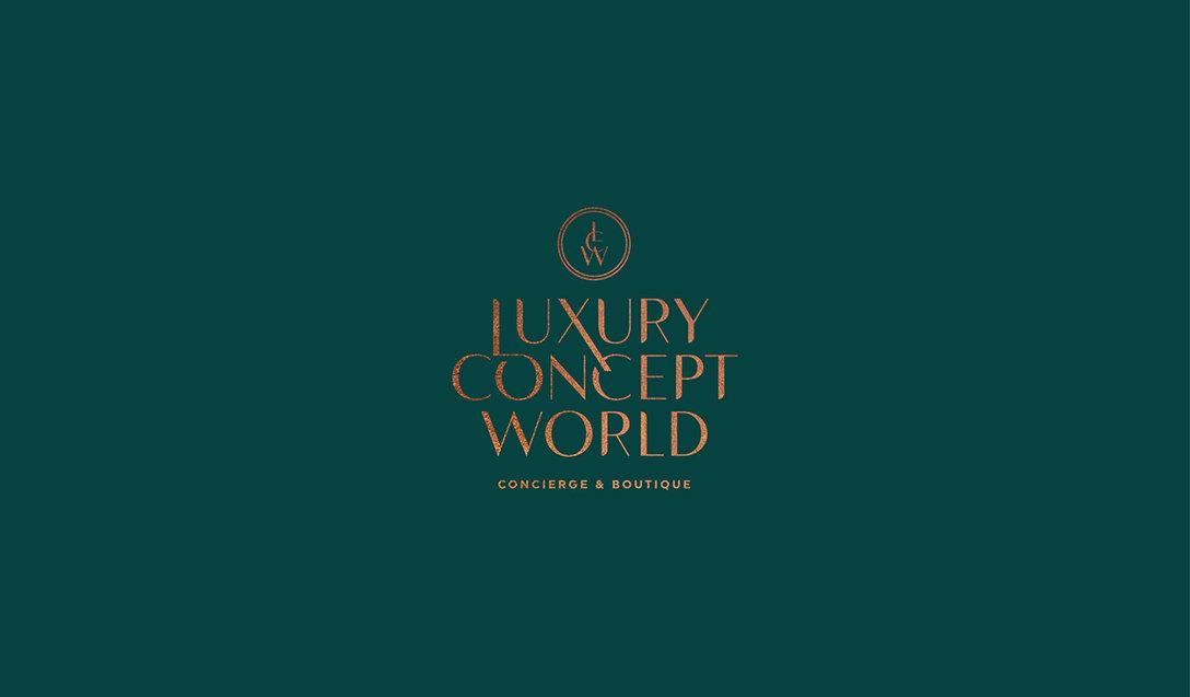 Luxury Concept World 精品店logo设计及vi设计欣赏