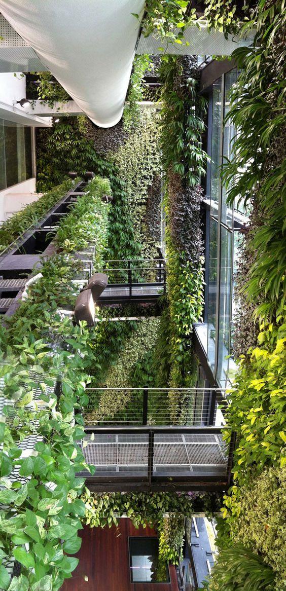 建筑空间丨垂直绿化