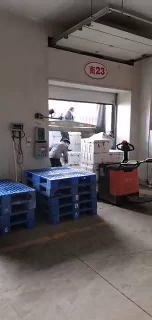 寿光捐赠的首批350吨蔬菜顺利抵达武汉