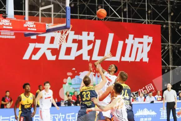 中欧篮球冠军杯首战广东东莞银行力克德国EWE奥尔登堡
