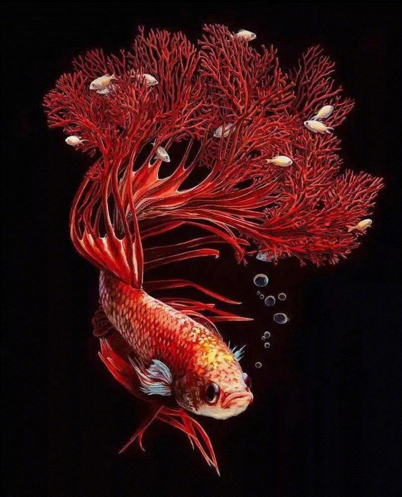 美国画家 lisa ericson 超现实主义绘画作品 | www.lisaericson图片