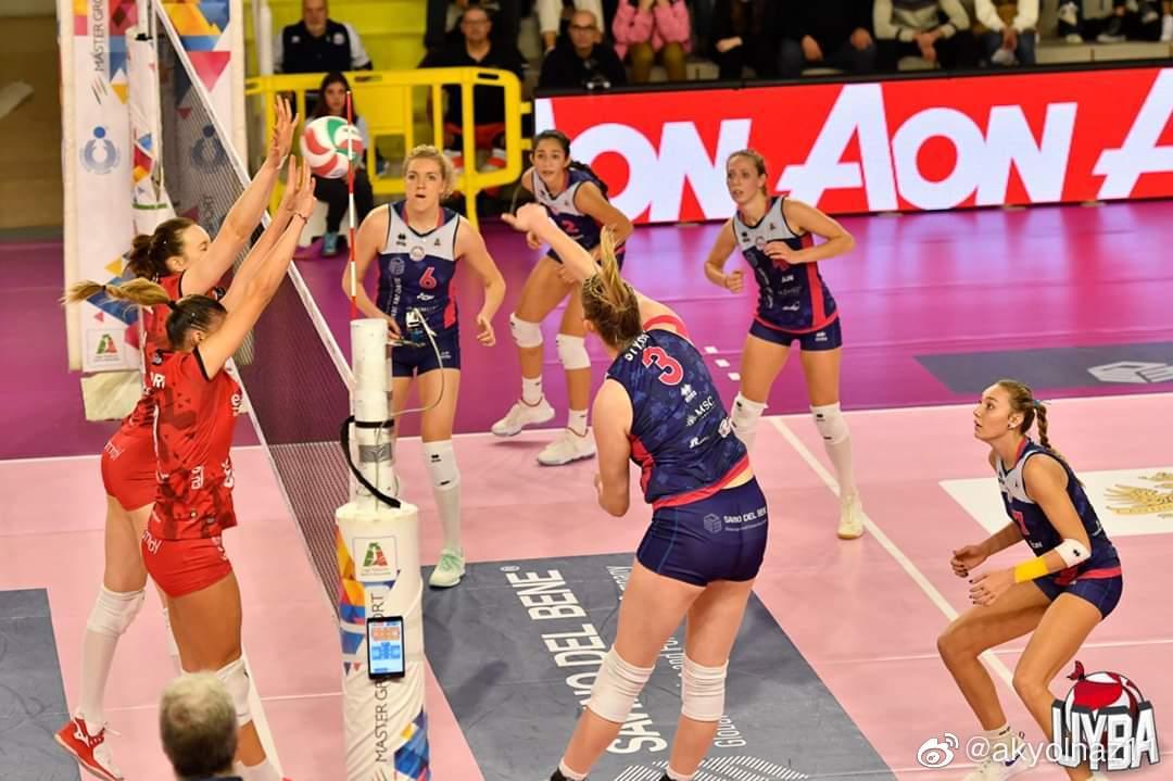 2019-2020赛季意大利女排联赛第九轮