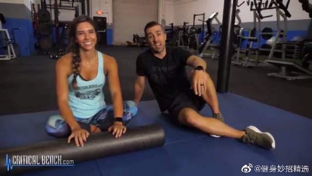大腿内侧肌群塑型训练,2个内收肌激活动作,坚持下去。