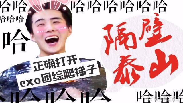 用隔壁泰山的方式打开EXO团综,请放心你没有看错视频!