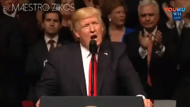 全程高能洗脑, 国外网友恶搞特朗普唱《Havanna》。哈哈哈