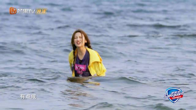 惨还是@火箭少女101_杨超越 惨,首次下海捕鱼的 成表情包