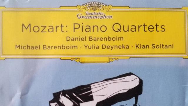 《莫扎特·钢琴四重奏》新专辑欣赏