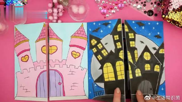 给纸娃娃家庭DIY漂亮亲子装,仙女和女巫装扮哪个更好看?