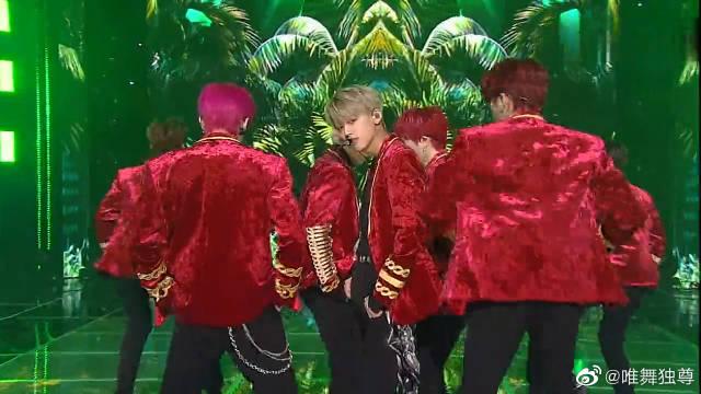 《人气歌谣》ENOi《Cheeky》,他们的舞姿映染上了金色光斑!